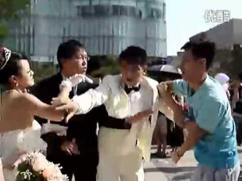 fighting groom